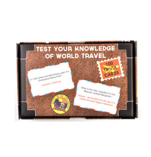Travel Trivia Suitcase - 100 Cards Thumbnail 2