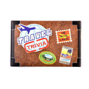 Travel Trivia Suitcase - 100 Cards Thumbnail 3