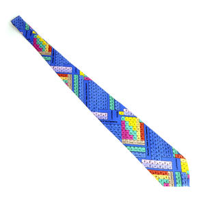 Multi-Coloured Periodic Table Neck Tie for Physicists, Chemists and Lab Technicians Thumbnail 2