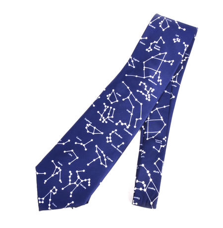 Constellations Astronomy Map Neck Tie - for Astronomers, Astrologers, Astronauts and Aliens