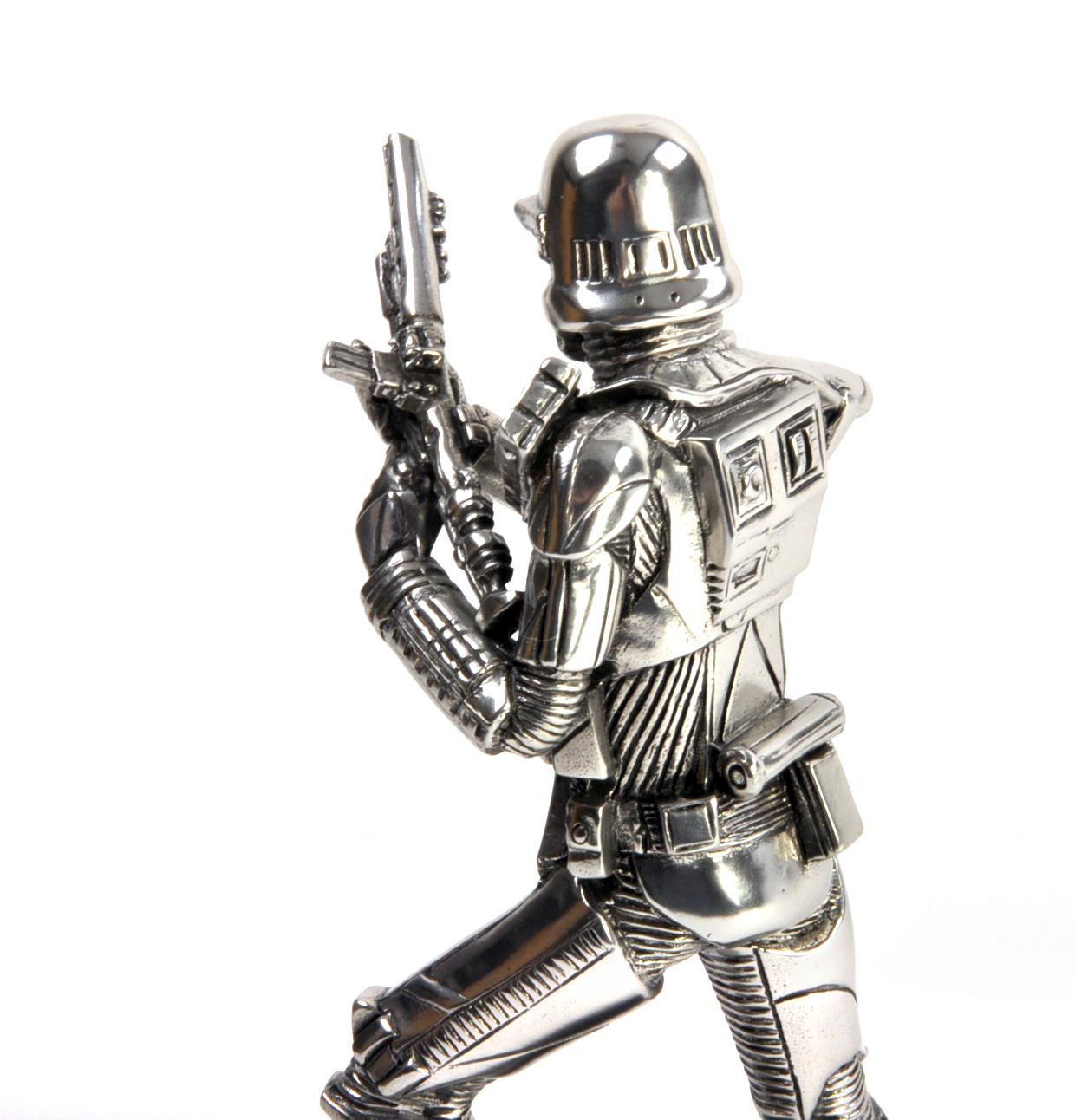 NEW Royal Selangor Star Wars Death Trooper Figurine