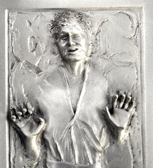 Star Wars - Han Solo Frozen Container - Figurine / Sculpture by Royal Selangor Thumbnail 3