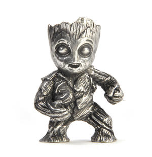 Groot - Marvel Figurine / Sculpture by Royal Selangor