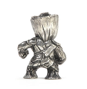 Groot - Marvel Figurine / Sculpture by Royal Selangor Thumbnail 3