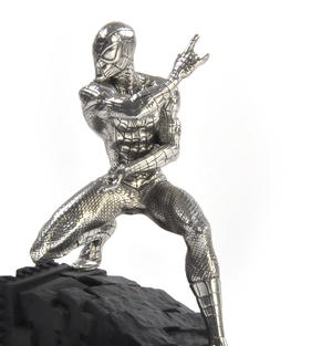 Spiderman Webslinger - Marvel Figurine / Sculpture by Royal Selangor