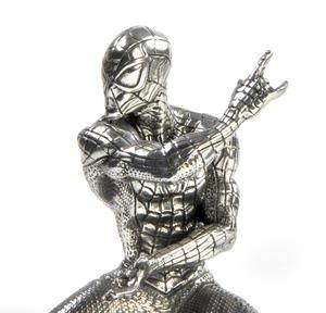 Spiderman Webslinger - Marvel Figurine / Sculpture by Royal Selangor Thumbnail 2