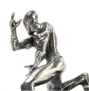 Spiderman Webslinger - Marvel Figurine / Sculpture by Royal Selangor Thumbnail 3