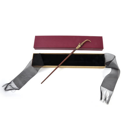 Nicolas Flamel Wand in Ollivander's Box - Newt Scamander Fantastic Beasts - Noble Collection Replica