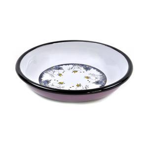 Snorkmaiden - Moomin Friends - Moomin Muurla Enamel Dish -18cm Thumbnail 3