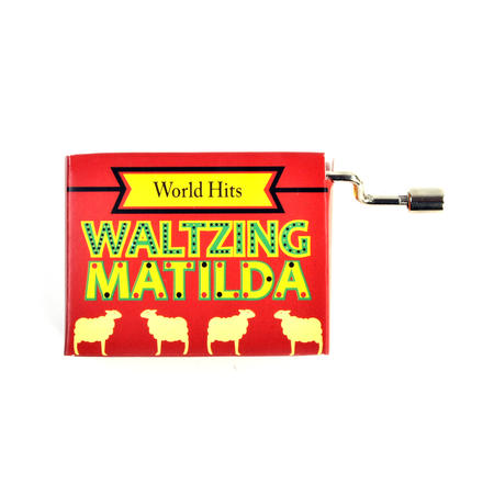 Waltzing Matilda Music Box - Worldwide Hits - Handcrank Music Hurdy Gurdy