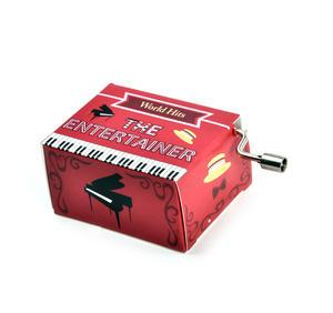 The Entertainer Scott Joplin Music Box - Worldwide Hits - Handcrank Music Hurdy Gurdy Thumbnail 2