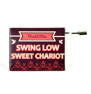 Swing Low Sweet Chariot Music Box - Worldwide Hits - Handcrank Music Hurdy Gurdy Thumbnail 1