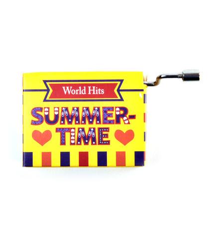 Summertime Porgy & Bess Music Box - Worldwide Hits - Handcrank Music Hurdy Gurdy