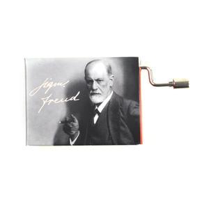 """Sigmund Freud """"Die Traumdeutung""""  / """"Scenes from Childhood"""" Robert Schumann Music Box - Handcrank Music Hurdy Gurdy"""
