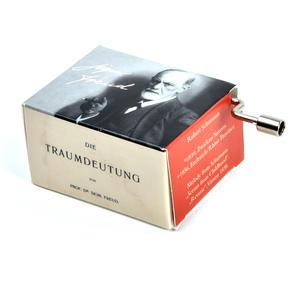 "Sigmund Freud ""Die Traumdeutung""  / ""Scenes from Childhood"" Robert Schumann Music Box - Handcrank Music Hurdy Gurdy Thumbnail 2"