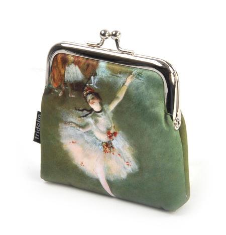 Edgar Degas Ballerina Star Snap Coin Purse