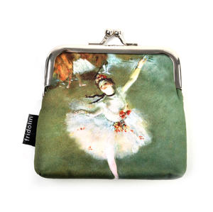 Edgar Degas Ballerina Star Snap Coin Purse Thumbnail 2