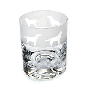 Labrador - 30cl Animo Glass Whiskey Tumbler by The Milford Collection Thumbnail 1