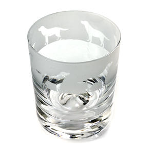 Labrador - 30cl Animo Glass Whiskey Tumbler by The Milford Collection Thumbnail 3