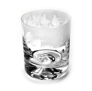Fishing Scene - 30cl Animo Glass Whiskey Tumbler by The Milford Collection Thumbnail 2