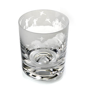 Shooting - 30cl Animo Glass Whiskey Tumbler by The Milford Collection