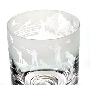 Shooting - 30cl Animo Glass Whiskey Tumbler by The Milford Collection Thumbnail 2