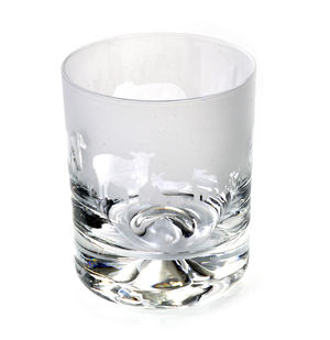 Sheep - 30cl Animo Glass Whiskey Tumbler by The Milford Collection