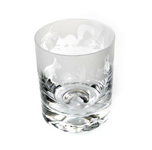 Squirrel - 30cl Animo Glass Whiskey Tumbler by The Milford Collection Thumbnail 1