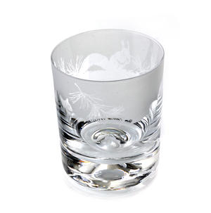 Squirrel - 30cl Animo Glass Whiskey Tumbler by The Milford Collection Thumbnail 4
