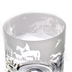 Hunting - 30cl Animo Glass Whiskey Tumbler by The Milford Collection Thumbnail 3