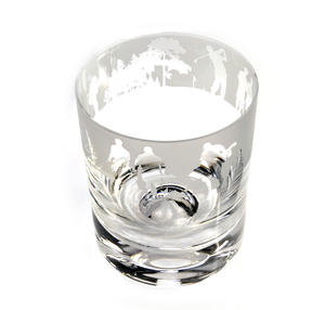 Golf - 30cl Animo Glass Whiskey Tumbler by The Milford Collection Thumbnail 2
