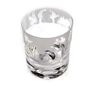 Golf - 30cl Animo Glass Whiskey Tumbler by The Milford Collection Thumbnail 3