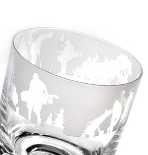 Golf - 30cl Animo Glass Whiskey Tumbler by The Milford Collection Thumbnail 4