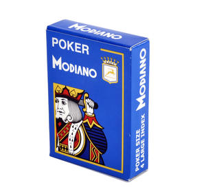 Modiano Poker Playing Cards - Blue Thumbnail 1
