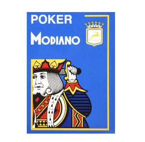 Modiano Poker Playing Cards - Blue Thumbnail 3