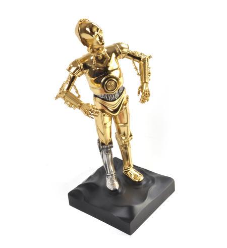 C3PO - Star Wars Ltd Edition Gold Figurine by Royal Selangor