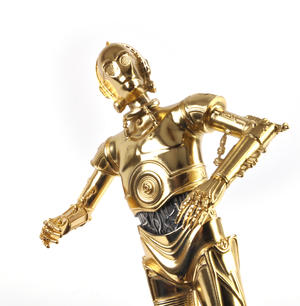 C3PO - Star Wars Ltd Edition Gold Figurine by Royal Selangor Thumbnail 3
