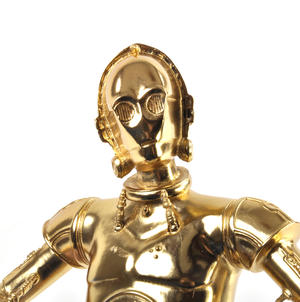 C3PO - Star Wars Ltd Edition Gold Figurine by Royal Selangor Thumbnail 4