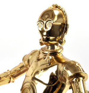C3PO - Star Wars Ltd Edition Gold Figurine by Royal Selangor Thumbnail 5