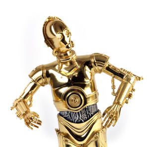 C3PO - Star Wars Ltd Edition Gold Figurine by Royal Selangor Thumbnail 7