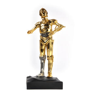 C3PO - Star Wars Ltd Edition Gold Figurine by Royal Selangor Thumbnail 8