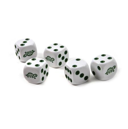 Turtle Dice - 5 Poker Dice Set