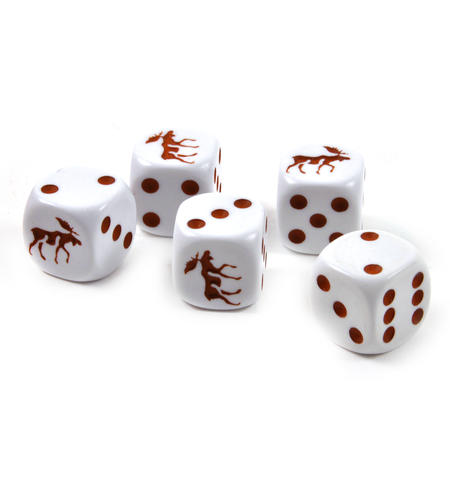 Moose Dice - 5 Poker Dice Set
