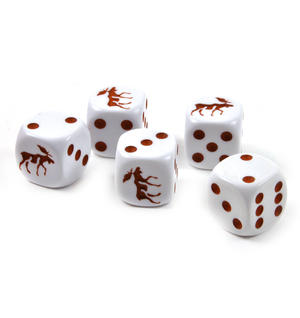 Moose Dice - 5 Poker Dice Set Thumbnail 1