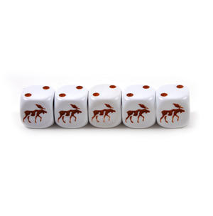 Moose Dice - 5 Poker Dice Set Thumbnail 2