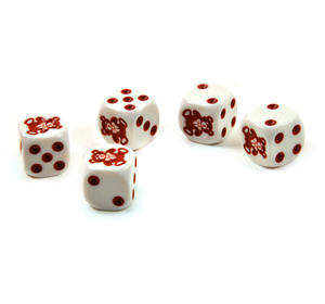 Teddy Bear Dice - 5 Poker Dice Set