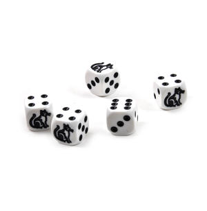 Cat Dice - 5 Poker Dice Set