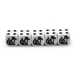 Cat Dice - 5 Poker Dice Set Thumbnail 3