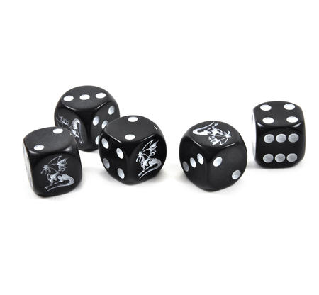 Dragon Dice - 5 Poker Dice Set