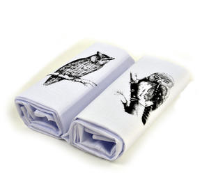 Owl - 2 Pack - Country Sports Scenes Printed Handkerchiefs Thumbnail 2